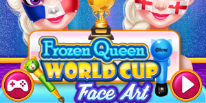 Hra - Soccer WorldCup 2018 Face Art