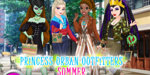 Hra - Princess Villain Urban Summer Outfitters