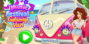 Hra - Girls Fix It: Music Festival Getaway Wan