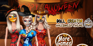 Hra - Doll Creator Halloween Theme