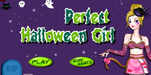 Perfect Halloween Girl