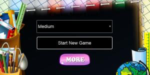Hra - Numbers Memory Time