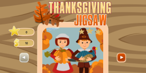 Hra - Thanksgiving Jigsaw