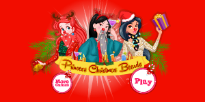 Hra - Princess Christmas Beards