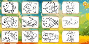 Hra - Fish Coloring Book