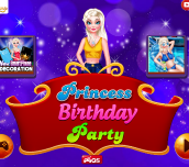 Hra - Princess Birthday Party