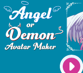 Hra - Angel or Demon Avatar Dress Up Game