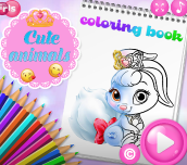 Hra - Cute Animals Coloring Book
