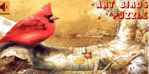 Hra - Art Birds Puzzle