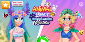 Hra - Animal Trends Social Media Adventure