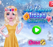 Hra - Ice Queen Frozen Crown