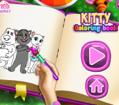 Hra - Kitty Coloring Book