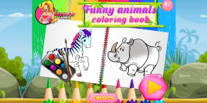 Hra - Funny Animals Coloring Book