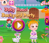 Hra - Baby Hazel Backyard Party Html5