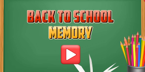 Hra - Back To School Memory