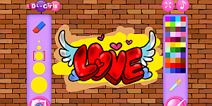 Hra - Princess Cool Graffiti
