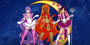 Hra - Sailor Warriors New Era