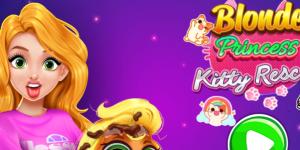 Hra - Blonde Princess Kitty Rescue