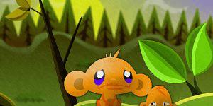 Hra - Monkey Go Happy 2