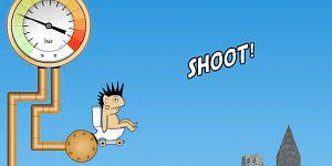Hra - Rocket Toilet