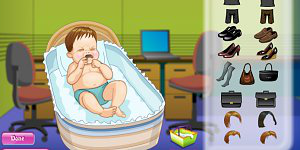 Hra - Dress My Baby 2