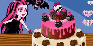 Hra - Draculaura Birthday Cake