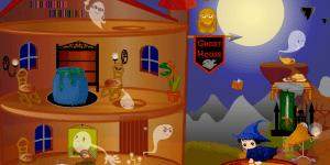 Hra - Halloween House Makeover 2
