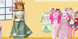 Hra - Barbie oblíkačka 4