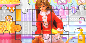 Hra - Barbie Puzzle 5