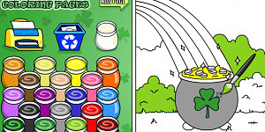 Hra - Stpatrick Coloring