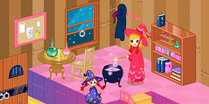 Hra - Witch Room Decorate