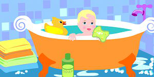 Hra - Baby in Bath