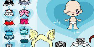 Hra - Baby Dressup