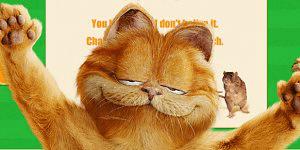 Hra - Garfield Pong