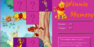 Hra - Winnie pexeso