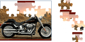 Hra - Harley Puzzle