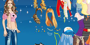 Hra - Hannah Montana dress up hra