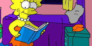 Hra - Simpsons Home Interactive