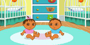 Hra - Dora Playtime with the Twins