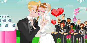Hra - Annie Wedding Kissing
