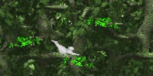Hra - Yeti Sports - Jungle Swing