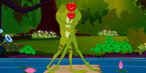 Hra - Frogs Kissing