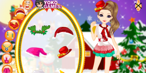 Hra - Miss Santa Makeover