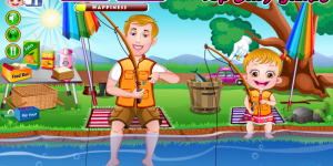 Hra - Baby Hazel Fishing Time