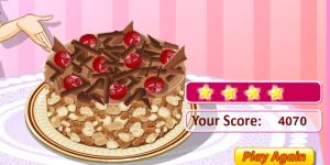 Hra - Sara's Cooking Class: Chocolate Cake