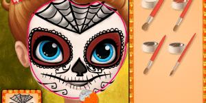 Hra - Sofia Halloween Face Art