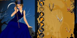 Hra - Queen Of Hallowenn Dress Up