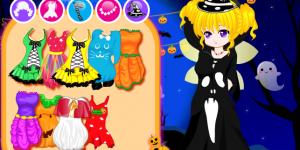 Hra - Lovely Halloween Girl