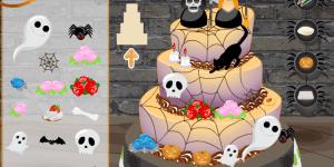 Hra - Halloween Wedding Cake