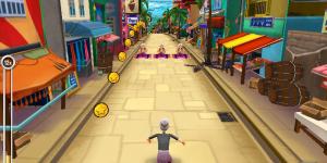 Hra - Angry Gran Run India